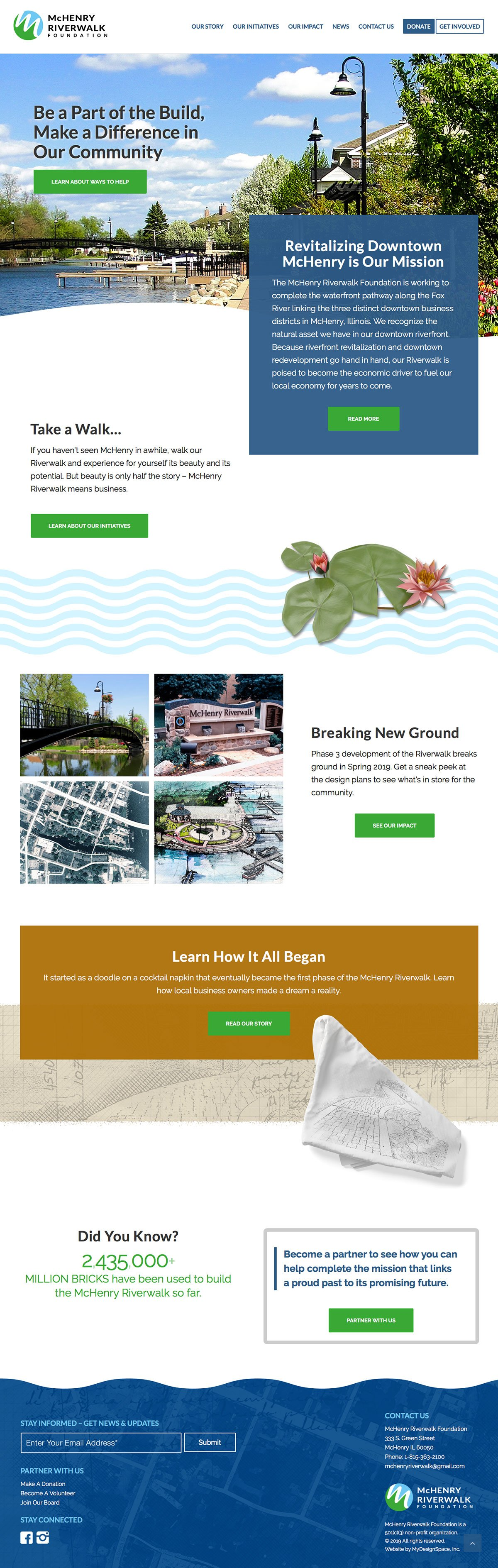 McHenry Riverwalk Foundation Home Page